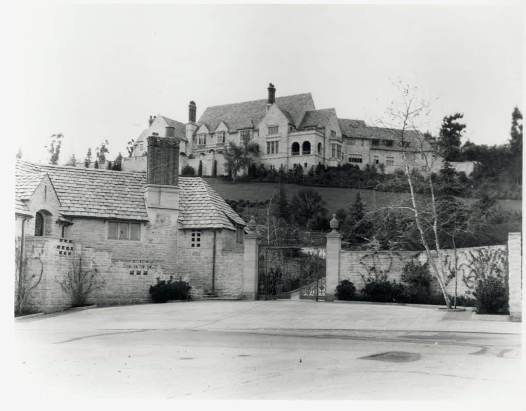 Greystone Mansion exterior